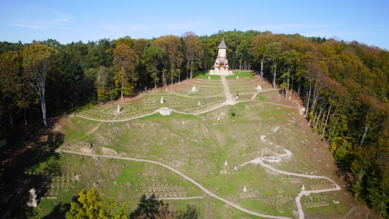 Der Kriegsfriedhof Nr 123 Luzna Pustki
